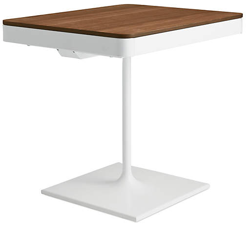 Design Within Reach Min Bedside Table with Pedestal Base