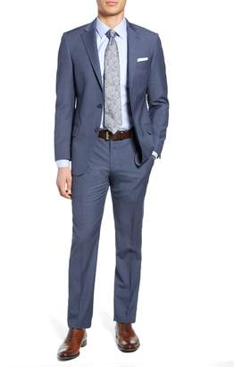 Hart Schaffner Marx Brooklyn Classic Fit Solid Wool Suit