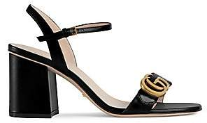 99c6b1be96e Gucci Block Heel Women s Sandals - ShopStyle
