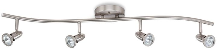 Bed Bath & Beyond 4-Light Ceiling Track Light in Satin Nickel