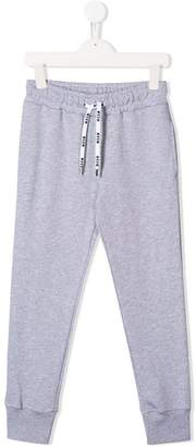 MSGM Kids drawstring track trousers