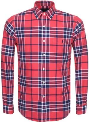 Ralph Lauren Check Shirt Red