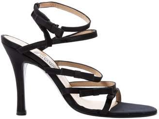 Gianni Versace Cloth sandals