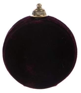 Gianfranco Ferre Mini Velvet Crossbody Bag