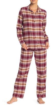 PJ Salvage Lost In Wonder Plaid Pajama Pants