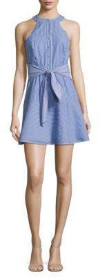 Parker Lauralie Cotton Dress $238 thestylecure.com