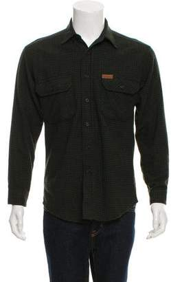 Woolrich Wool Button-Up Shirt