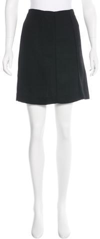 MarniMarni Wool-Blend Mini Skirt