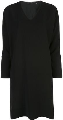 Natori long sleeve shift dress