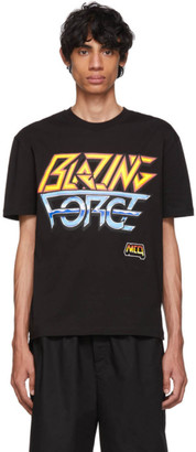 McQ Black Blazing Force T-Shirt