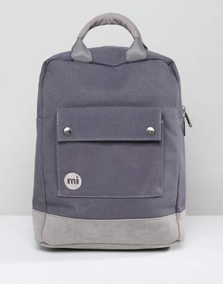 Mi-Pac Tote Backpack In Charcoal