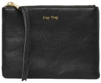 Aimee Kestenberg Leather Phrase Zip Pouch