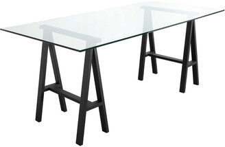 Pangea Brady Glass Desk