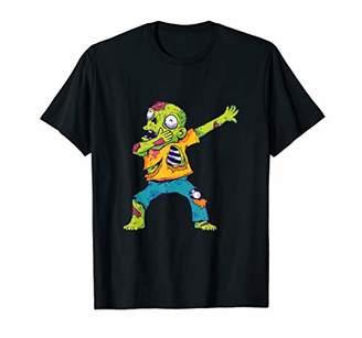 Dab Dance Zombie Halloween Costume Scary Monsters Gift T-Shirt