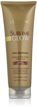 L'Oreal Sublime Glow Daily Moisturizer and Natural Skin Tone Enhancer
