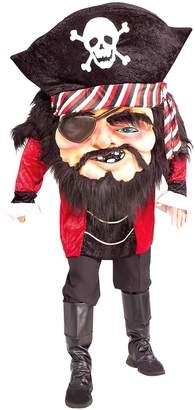 Forum Novelties Men's Parade Pleasers Mega Matie Big Head Pirate Costume