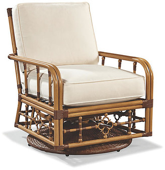 Lane Venture CELERIE KEMBLE FOR MImi Glider Lounge Chair - Canvas Sunbrella