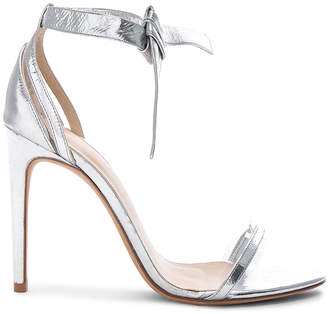 Alexandre Birman Leather & Plexi Clarita Sandals