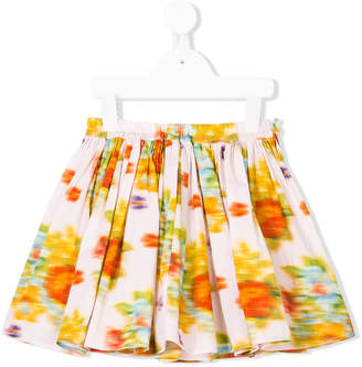 Maan blurred floral skirt