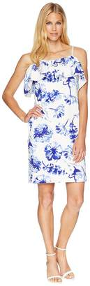 Lauren Ralph Lauren B599 Texacana Floral Catalia Day Dress Women's Dress