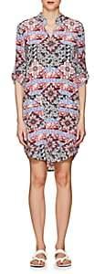 L'Agence WOMEN'S AMANDA PAISLEY & FLORAL SILK DRESS
