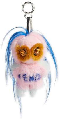 Fendi Fendirumi Piro-Chan Genuine Fur Bag Charm