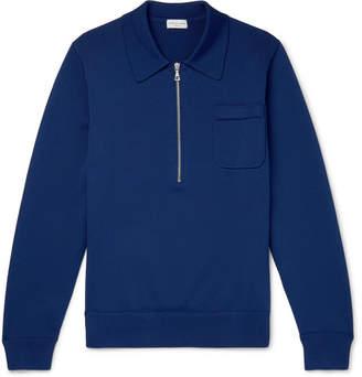 Dries Van Noten Slim-Fit Knitted Half-Zip Sweater