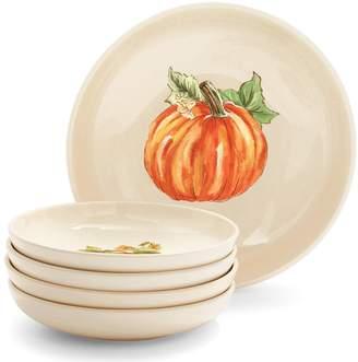 Sur La Table Pumpkin Pasta Bowls, Set of 5