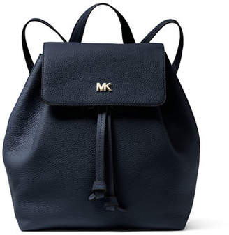 MICHAEL Michael Kors Junie Medium Leather Flap Backpack
