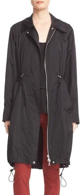 TheoryTheory Irenen Zip Front Drawstring Coat