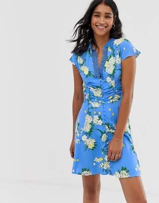 Free People Alora floral print dress
