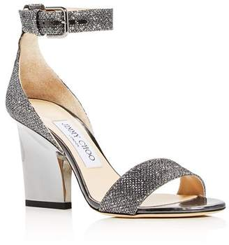 f4a5e92ba8b Jimmy Choo Anthracite Glitter Shoes - ShopStyle