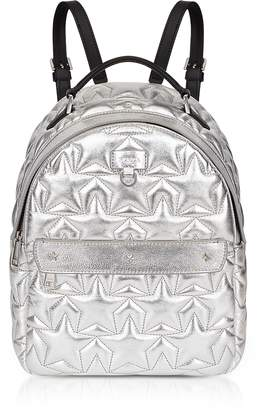Furla Silver Star Quilted Leather Favola Small Backpack