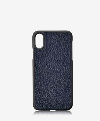 GiGi New York iPhone X Hard-Shell Case, Black Pebble Grain