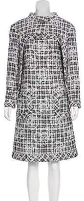 Chanel Camellia Tweed Dress Set