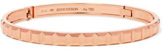 Boucheron Quatre Clou De Paris 18-karat Rose Gold Bracelet - M