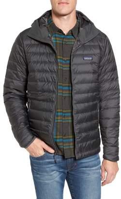 Patagonia Packable Windproof & Water Resistant Goose Down Sweater Hooded Jacket