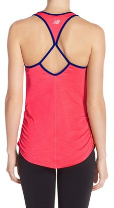 Women's New Balance Ruched Tank $40 thestylecure.com