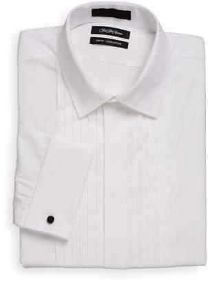Saks Fifth Avenue Men's Slim-Fit Cotton Tuxedo Dress Shirt