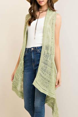 Entro Sage Knit Vest