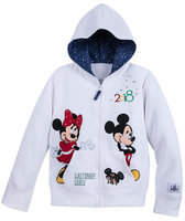 Mickey Mouse and Friends Zip-Up Hoodie for Kids - Walt World 2018