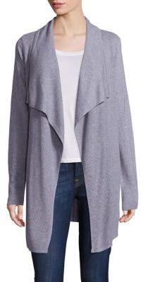 Design History Waffle-Knit Open-Front Cardigan $179 thestylecure.com