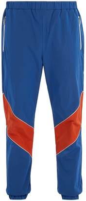 Gucci Contrast-stripe track pants