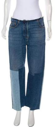 Valentino Mid-Rise Straight-Leg w/ Tags