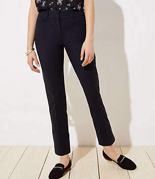 LOFT High Waist Riviera Pants in Curvy Fit