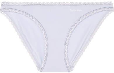 Seductive Comfort Stretch-jersey Briefs - Lilac