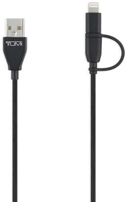 Tumi 2-in-1 Lightning & Micro USB Cable
