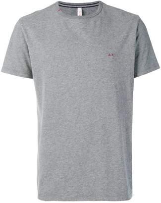 Sun 68 contrast logo T-shirt
