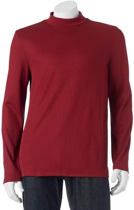 Croft & Barrow Men's Classic-Fit Solid Mockneck Tee