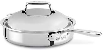 All-Clad d7 Stainless 3 Quart Pan Roaster with Lid